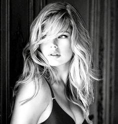 Dutch model, Doutzen Kroes.  Victoria's Secret.