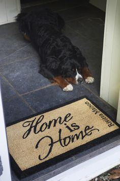 €39,95 Home Is Home Doormat #living #interior #rivieramaison