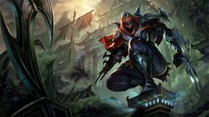New champion reveal: Zed, the Master of Shadows.