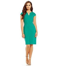 a79132b4cfca Antonio Melani Cap Sleeve Kerry Ponte Dress Antonio Melani, Work Wear,  Dresses For Work