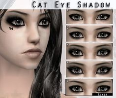 Anarchy-Cat: Eyes13 by lorelea • Sims 4 Downloads | Sims 4 Make Up ...