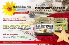 CocoVie Naturals at Whole Life Expo 2014