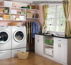 adding closet space to your laundry room