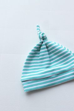 The Knotted Hat // Ocean Stripe