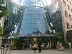 Wheelock Place - Main entrance to Wheelock Place. For more information visit: http://thesalon.com.sg/