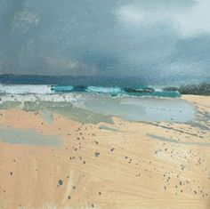 The New Craftsman is the oldest established Art Gallery and Craft shop in St Ives. Abstract Watercolor, Abstract Landscape, Abstract Art, Seascape Paintings, Landscape Paintings, Wow Art, Ocean Art, Beach Art, Strand