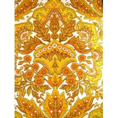 Vintage Damask 70s Wallpaper... NEED IN MY LIFE