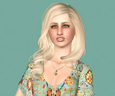 The Sims 3 Female Hair: Newsea More Than Honey Retextures Custom Content Download