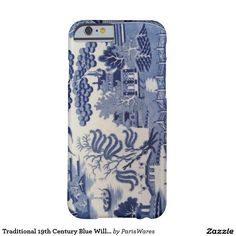 Traditional 19th Century Blue Willow China Case Barely There iPhone 6 Case