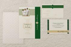 Flat Rectangle Wedding Invitations - Celtic Wedding