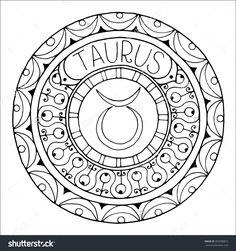 Zodiac Sign of Taurus : Shutterstock 350998823
