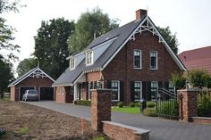 Afbeeldingsresultaat voor baksteen landelijk huis