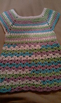 Ravelry: Easy No Sew Summer Baby Doll Top pattern by Sandra Lynn $2.50 for pattern