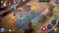 The Alchemist Code is a Android Free 2 play Turn Based Strategy Role Playing Multiplayer Game in a universe of infinite possibilities