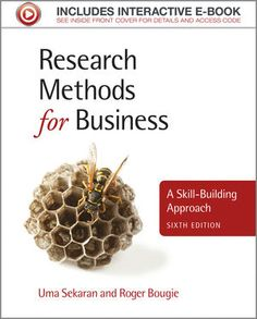 This book is popular with undergraduate business students doing their dissertation