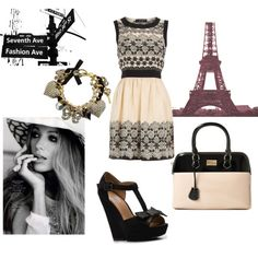 Yet another website in addition to pinterest that I'm addicted to. Polyvore. First set I designed!