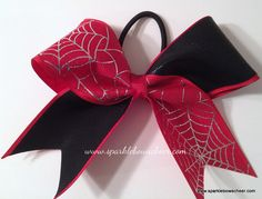 Another spiderman cheer bow!! :)