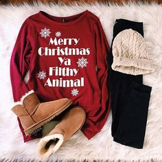 Christmas outfit!! Just need different boots!