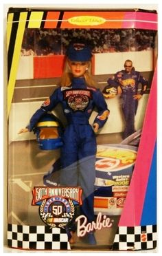 """Nascar """"50th Anniversary Barbie"""" (Collector Edition) 1998"""