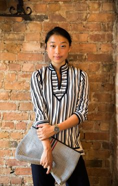 Look We Love: Margaret Zhang's Pattern Play | The Tory Blog