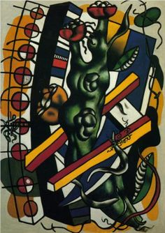 Fernand Leger (1881 - 1955) | Purism | The tree in the scale - 1943