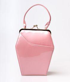 Pink Sparkle 1950s Purse $52.00 AT vintagedancer.com