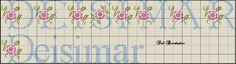 Artes e bordados da Sol: Nomes que fiz com a Letra D