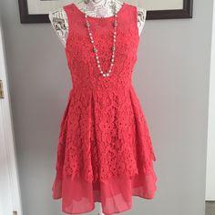 Spotted while shopping on Poshmark: Beautiful Lace Dress! #poshmark #fashion #shopping #style #Point #Dresses & Skirts