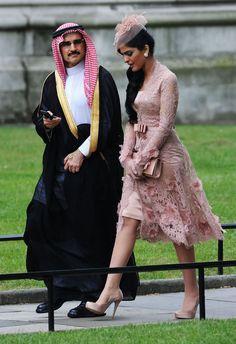 Princess Ameerah of Saudi Arabia at Prince William and Kate Middleton's wedding