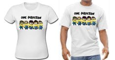 One Direction Minions Mischief & Mayhem T-shirt Minion TShirt Gift One Direction Minions, Global Brands, Dragons Den, Crew Neck, Young Farmers, Trending Outfits, Mens Tops, T Shirt, Shopping