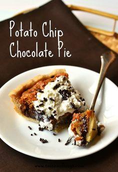 Potatp Chip Chocolate Pie