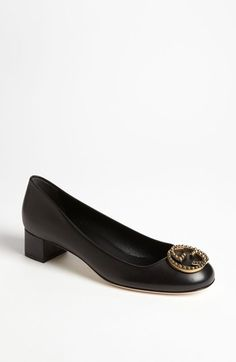 Gucci Interlock Logo Pump available at Librarian Chic, Gucci Brand, Wrap Heels, Round Toe Pumps, Effortless Chic, Tory Burch Flats, Shoe Game, Personal Style, Nordstrom