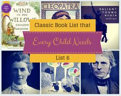 Classic Kids Book List That EVERY Child Needs Six