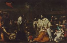 File:Giuseppe Maria Crespi (Italian (Bolognese) - Bernard Tolomei and the Plague in Siena - Google Art Project.jpg