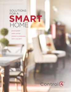 Solution Smart Home Overview | Control4