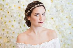 Lorna by Happily Ever Headwear Headpiece Wedding, Bridal Headpieces, Bridal Crown, Vintage Glamour, Beads And Wire, Hair Band, Vintage Inspired, Dress Up, Inspiration