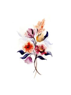 Grecian Floral Limited Edition Art Print by Olivia Kanaley | Minted