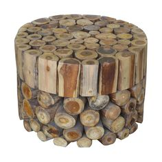 Coffee Table Round Block   Overstock™ Shopping - Great Deals on Jeffan Coffee, Sofa & End Tables