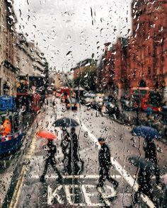 "Rainy days by elensham ""[More London here →]"" Rainy Day Photography, Blur Photography, London Photography, Street Photography, Travel Photography, Photography Ideas, Rainy Wallpaper, London Rain, Autumn Scenes"