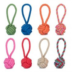 Cotton Rope Tug and Toss Dog Toy - Harry Barker
