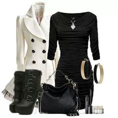 Classy fashion, www.lolomoda.com not a fan of the shoes but I love the dress!!