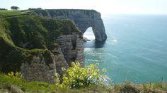 Etretat - Les falaises - Les fleurs - La plage - La mer | da jeanlouisallix