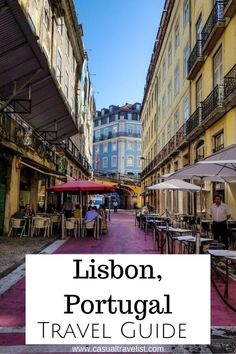 Looking for a travel guide for Lisbon, Portugal? Check out these tips to help you plan your first trip to Lisbon. There has never been a better time to visit Lisbon, Portugal and planning to travel to Lisbon is half the fun. | 25 Tips for Your First Trip to Lisbon, Portugal www.casualtravelist.com | #lisbon #lisbonportugal #portugal #portugaltravel #portugaltrip #europe #europetravel #travel