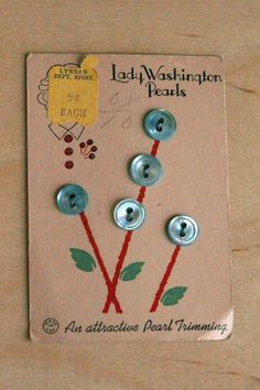 < ButtonShop.ca > button card } flowers