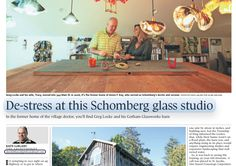 The Architourist: De-stress at this Schomberg glass studio