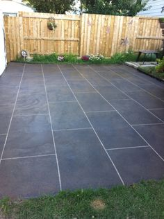 Concrete Resurfacing From @Centsational Girl | Outdoor Spaces | Pinterest |  Blog, Backyards And Decorative Concrete