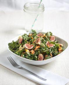 Kale and Fig Salad, Allyson Kramer