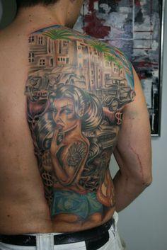 Made by Jimmi. Tattoo World Glostrup