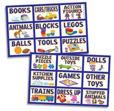 Toy labels...