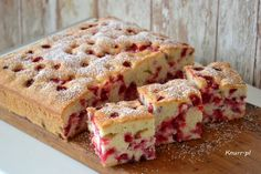 Polish Desserts, Sweet Bakery, Tasty, Yummy Food, Pumpkin Cheesecake, Cakes And More, Cupcake, Dessert Recipes, Cooking Recipes